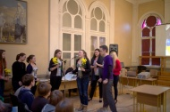 """Vecpiebalgas vidusskola sveic olimpiādes """"Atvērtā kopa"""" komandu jubilejā. Mīļš paldies par sveicieniem!"""